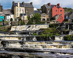 The falls in Ennistymon